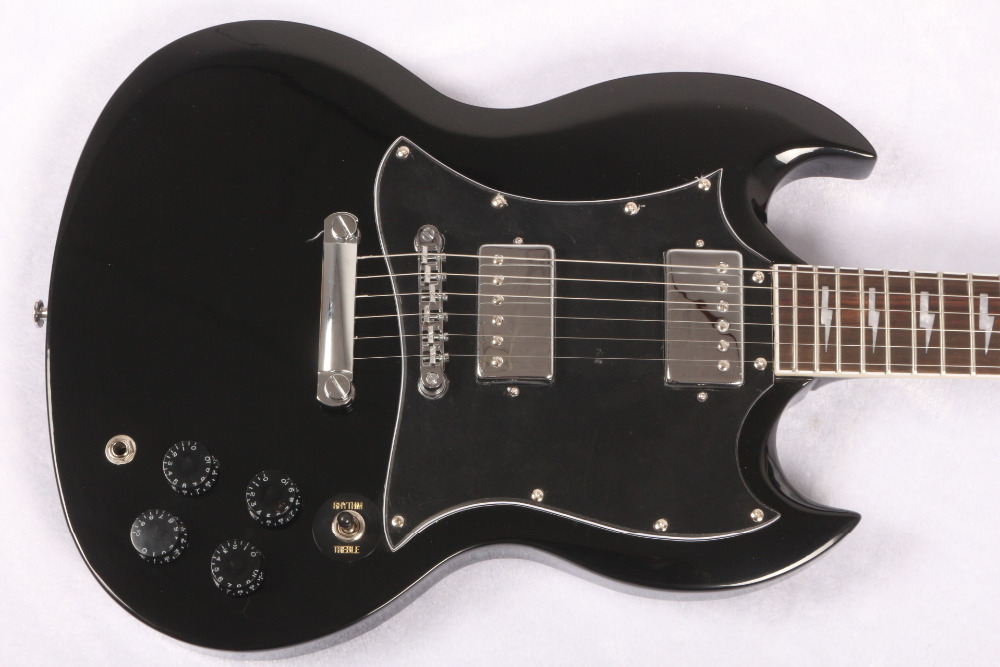 Angus Young Guitar AC/DC Inlaids black rosewood Fretboard electric Guitar,SG signature guitarra,Free shipping