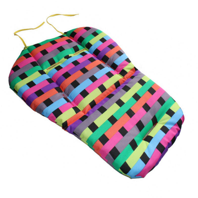 2016 new 0-3 year baby stroller Seat Childrens fashion thick cotton cushion trolley Baby Car Pad