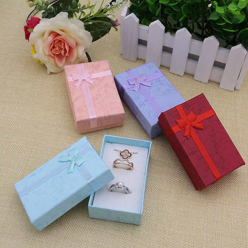 Mode display verpackung geschenk boxen schmuck box, anhänger box, ohrringe box 5*8*2,5 cm valentinstag geschenk ZA5713-in Aufbewahrungsboxen & Behälter aus Heim und Garten bei  Gruppe 1