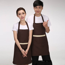 Work clothes apron kitchen nail supermarket coffee shop milk tea shop waiter(China)