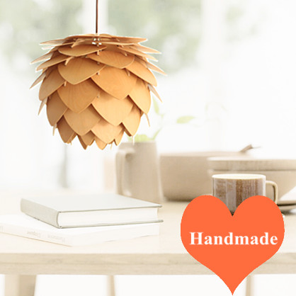 Creative pineal design ply-wood chips pendant lights Handmade E27 LED lamp indoor lamp for living room&corridor&porch BT122-300 denmark antique pinecone ph artichoke oak wooden pineal modern creative handmade wood led hanging chandelier lamp lighting light
