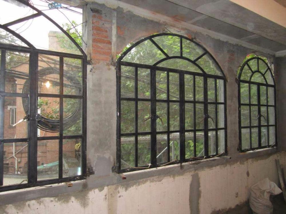 Steel Front Door With Window Decorative Steel Doors Residential