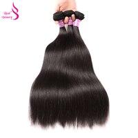Straight Brazilian Hair Weave Bundles 8 30 Deal Real Beauty Hair 3 Bundles Human Hair Bundles Remy Hair Extensions