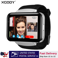 XGODY DM98 GPS 3G Smart Watch Android With SIM Card Pedometer Sports Tracker Smartwatch Phone 900mAh Wifi BT4.0 Wristwatch Men