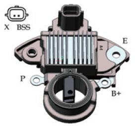 Nuevo regulador de voltaje de alternador 13621600
