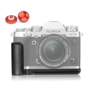 Image 1 - Meike Placa de liberación rápida con empuñadura manual de aleación de aluminio MK XT3G, soporte en L para Fujifilm X T3