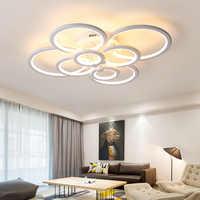 NEO Gleam RC Moderne led-deckenleuchten für wohnzimmer schlafzimmer studie zimmer decke lampe plafondlamp Weiß Farbe AC 110V 220V