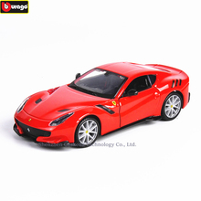 Bburago 1:32 Ferrari F12TDF High-imitation Car Model Die-casting Metal Toy Gift Simulated Alloy Collection
