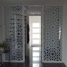 Custom Islamic patterns door decal Large Size Window vinyl sticker Home Decoration Removable self adhesive wallpaper murals A01