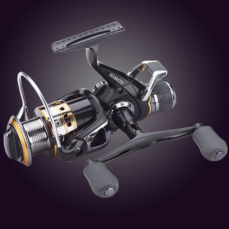 Hot Super Neueste Technologie Angelrolle Links/Rechts Griff Metall Spool Angeln Carp Reel 9BB + 1RB mit 1 ersatzspule