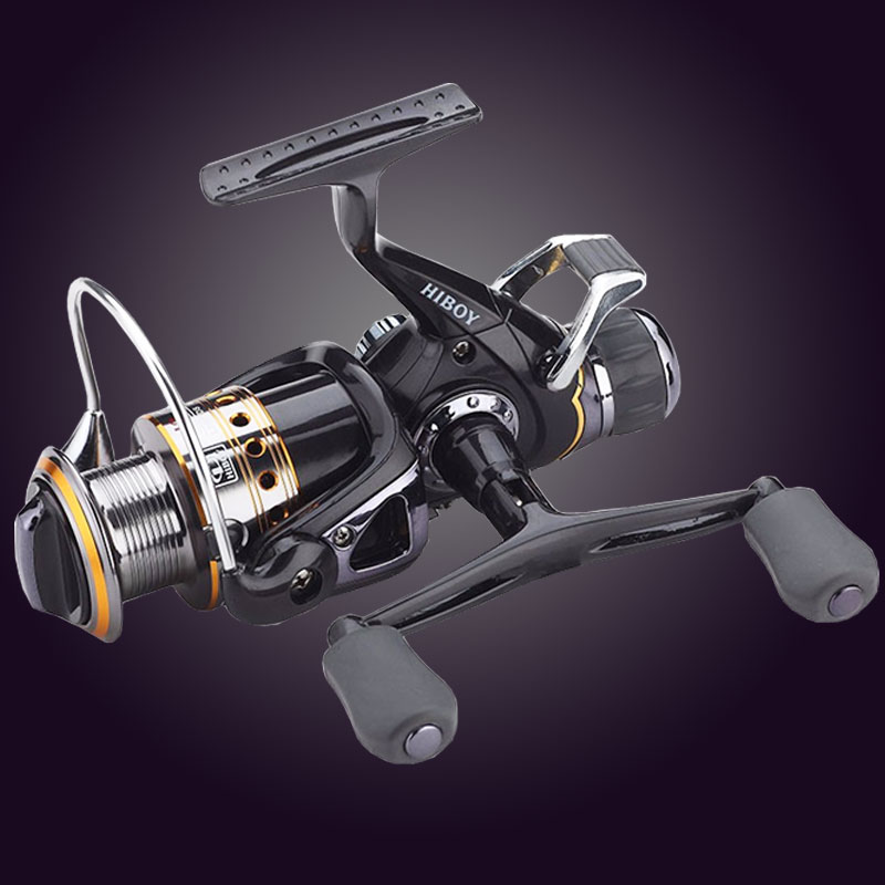 Hot Super najnowszy technologia Fishing Reel Left / Right Handle Metal Szpula Fishing Reel Fishing 9BB + 1RB z 1 szpulą zapasową
