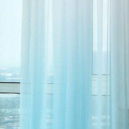 rideaux et voilages semi occultant degrade de couleur
