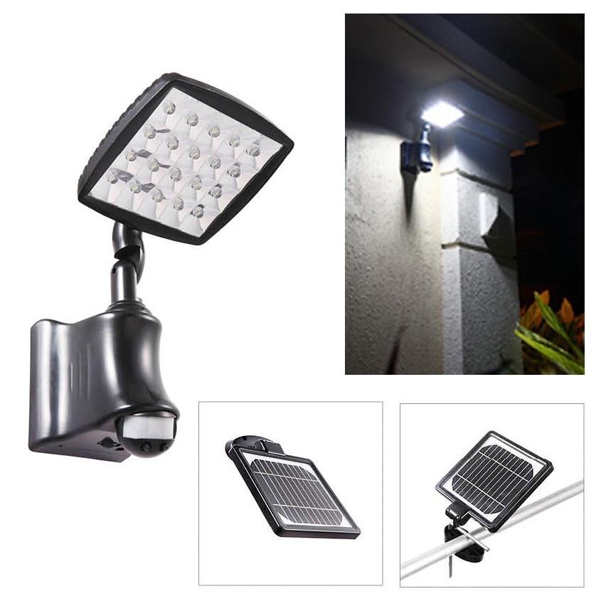 ФОТО Highlight 40W solar floodlight body induction lamp outdoor wall lamp wall lamp body courtyard balcony garage