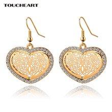 Toucheart Кристальный цветок/украшение на свадьбу пирсинг серьги