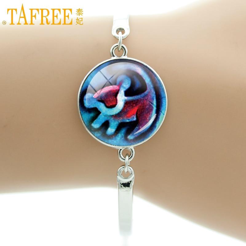 TAFREE Brand Lion King Simba bracelet cartoon totoro charm jewelry for men women Zodiac Animal dragon Pig sheep bracelets B274