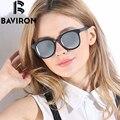 BAVIRON TR90 óculos de Marca Óculos de Armação Do Vintage Óculos Escuros De Grife Mulher Venda Quente Óculos de Sol HD Polarizada Gafas Retro Caixa de Luxo 2013