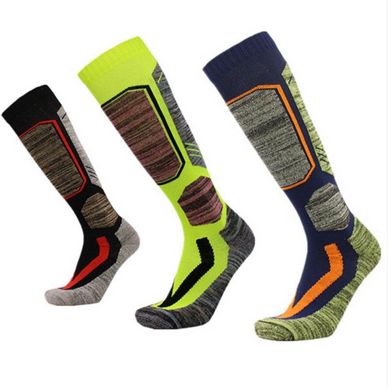 Hewolf Sports Socks Basketball Winter Warm Men Women Thermal Long Ski Socks Sports Snowboard Climbing Camping Hiking Soccer Sock