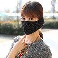 Nueva Moda de Invierno Mujeres de Los Hombres Mantener Caliente Cubierta Del Oído Protector a prueba de Polvo Máscaras de Protección 2 En 1 Boca todo incluido