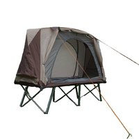 Ultralight Tent Outdoor Camping Cot 1 Person Single Beach Fishing Tent Double deck Tent off Ground