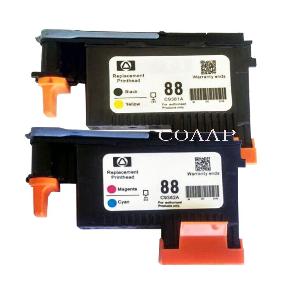 2 Compatible HP 88 Print head C9381A C9382A Officejet pro L7400 L7480 L7500 L7550 L7580 L7588 L7600 L7650 L7680 L7681 L77002 Compatible HP 88 Print head C9381A C9382A Officejet pro L7400 L7480 L7500 L7550 L7580 L7588 L7600 L7650 L7680 L7681 L7700
