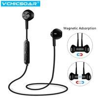 Vchicsoar I8 Bluetooth Earphone With Mic Headphones Sport Wireless Earphones Stereo Magnetic Headset Earbuds For Xiaomi