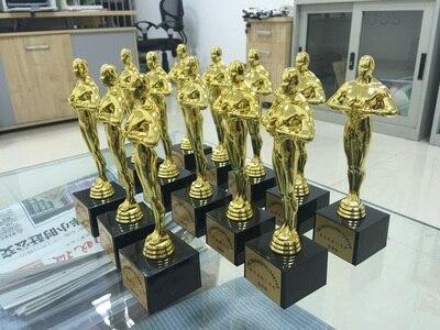 Academy Award Oscar Statue,Oscar Trophy, Replica Oscar Trophy 19cm  Hollywood Oscar Party Favors Award Prize trophy