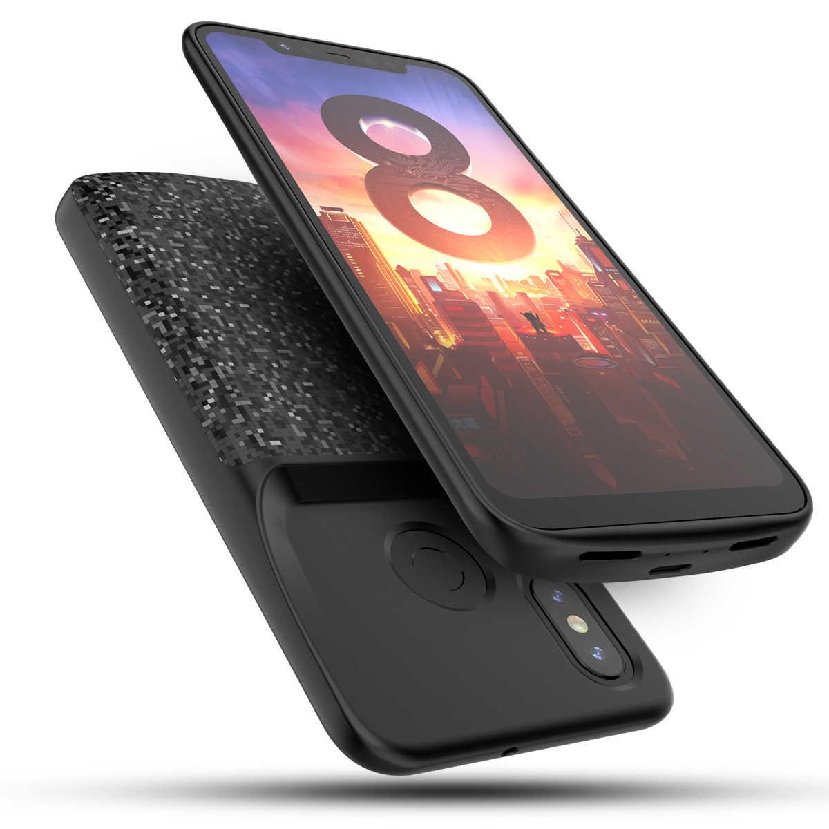 Egeedigi для Xiaomi Mi 8 8 Se 8 Lite резервного питания банк зарядный чехол для Xiaomi Mi 8/SE/Lite зарядное устройство Внешний чехол