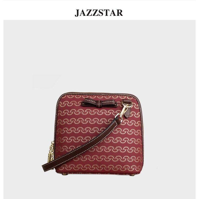 Jazzstar handbag 2018 new Messenger bag Europe and the United States fashion shoulder bag simple tide шкаф для ванной the united states housing