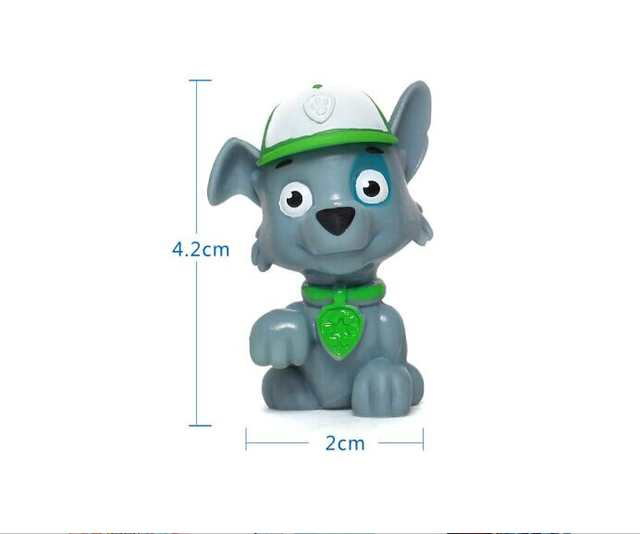 Genuine Paw Patrol Paw Patrol Action Figure 1 Pc Chase Rubble Skye Marshall Rocky Zuma Kids Toy
