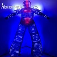 LED robot suit Costume /LED Clothing/Light suits/ LED Robot suits/Alexander robot