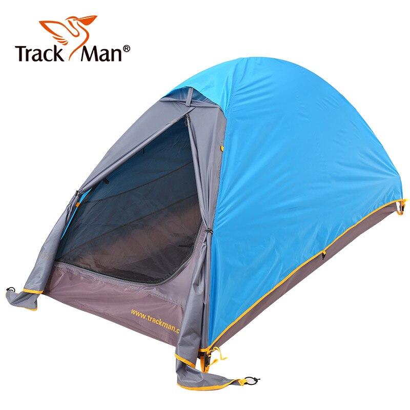 Trackman 2 personnes grande ombre extérieur plage abri soleil tentes étanche Camping 3 saisons tente Portable-TM1206