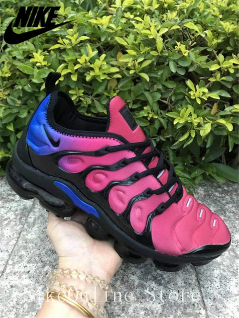 8bba7e07f3 Nike Air Max Vapormax Plus TN Men And Women Running Shoes Cushioning Shoes  Outdoor Sport Low top Sneaker EUR36-45