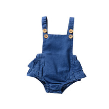 Lovely Baby Denim Bodysuit