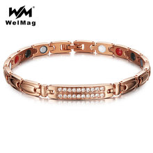 Браслеты welmag женские с кристаллами циркония браслеты для