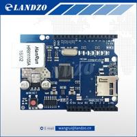1pcs Arduino Shield Ethernet Shield W5100 R3 UNO Mega 2560 1280 328 UNR R3 W5100 Development