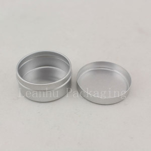 Image 3 - 10g X 200 Empty Sample Cosmetic Cream Container Aluminum ,Lip Balm Jars ,Solid Perfume Bottle Jar Tin Storage Containers Pot