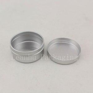 Image 3 - 10g X 200 puste próbki pojemnik na krem kosmetyczny aluminium, balsam do ust słoiki, trwałe perfumy butelki Jar cyny pojemniki do przechowywania Pot