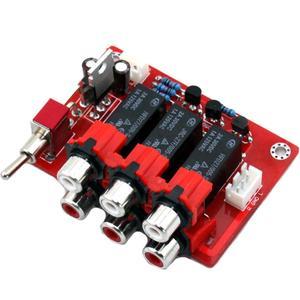 Image 4 - DC12V trzy sposób wejście wejście Audio przełączania wyżywienie YJ00309