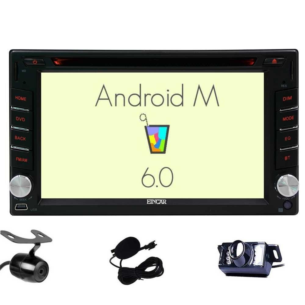 Front Backup Camera included Android 6 0 2 Din Car Stereo Car cd DVD Player GPS