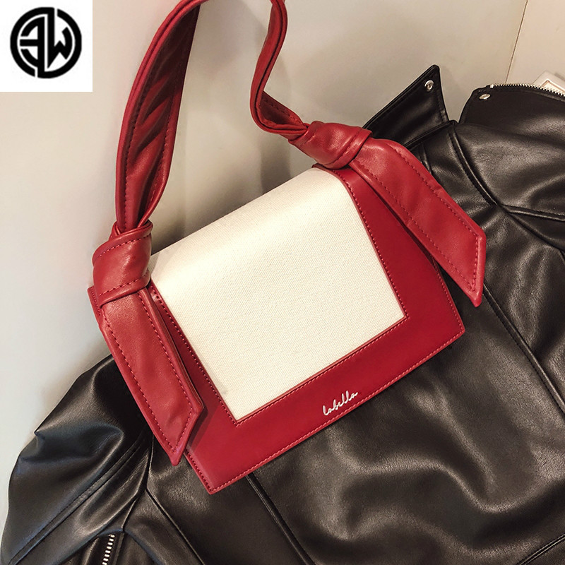 2018 New Fashion Cute Small Handbags Leather Women Famous Brand Crossbody Bags PatchWork Female Messenger Bags louis gg bag women bag female handbags leather shoulder bag crossbody famous brand tote handbag round flower black cute small fashion bags