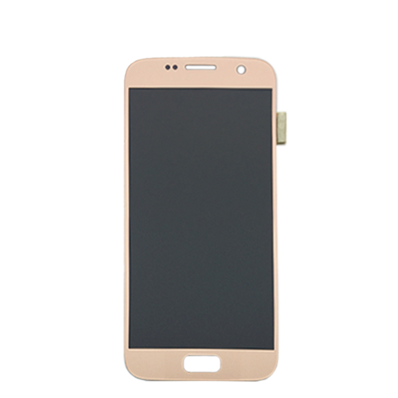 5.1 ''SUPER AMOLED remplacement LCD pas de cadre pour SAMSUNG Galaxy S7 affichage G930 G930F écran tactile numériseur - 5