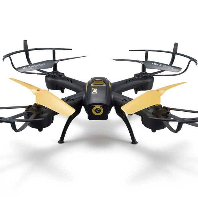 D61 RC Helicopter Drone 6 Axis Quadcopter 24GHz 4CH Remote Control Plane Quadrocopter Aircraft Model