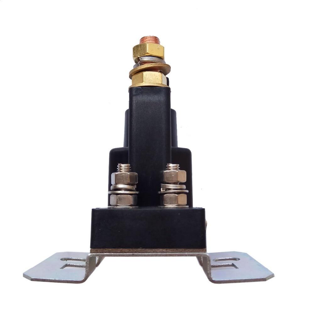 Augstas strāvas stiprums 500A AMP 12V 24V 4 kontaktu ieslēgšanas / - Auto rezerves daļas - Foto 3