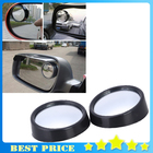 1pair Mini Rearview Car Mirror Wide Angle Round Blind Spot Side Rear view mirror Rain Shade Auto Accessories