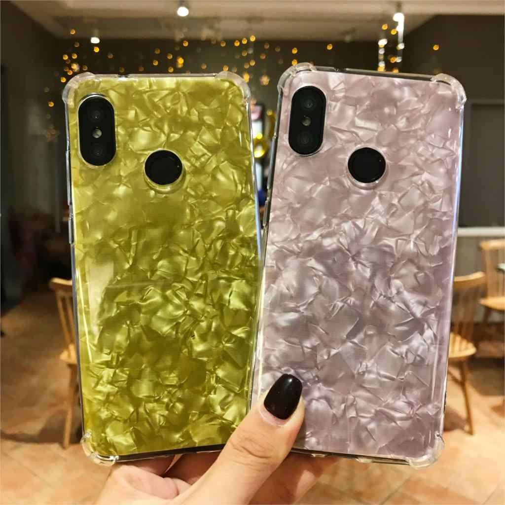 Anti-Shock Case ON THE For XiaoMi A2 A1 6X 5X 5s 8 Lite SE F1 MAX 3 2 MIX TPU Cover Marble RedMi Note 6 Pro 6A 5A 5 Plus 4A 4X