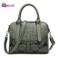 Women's Shoulder Bags Leather Fashion Totes Bag Brand Designer Ladies Handbag For Women Leather Handbags Totes Bolso Muje Clutch