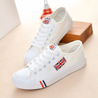 Women Solid Color Shoes 2016 Fashion Men Shoes Canvas Shoes Lace Up All Match Man Casual