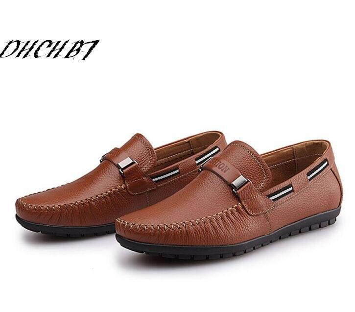 Tendance Mode homme doux et chaud chaussures en cuir Mocassins sMdBHA8
