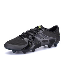2016 Mens High Quality Turf Athletic Sneakers font b Football b font Boots Cleats Shox Soccer