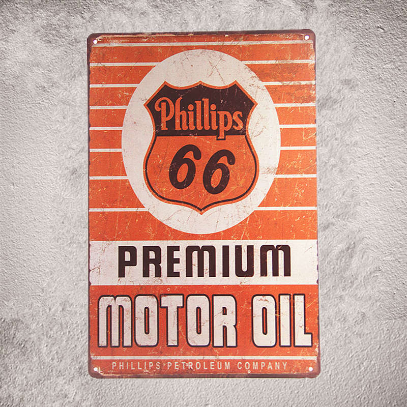 Metal Signs Tin Plaque US Route 66 Garage Sign Pin Up Car Bar Rustic Restaurant Pub Home Wall Stickers Decor In Plaques From Garden On